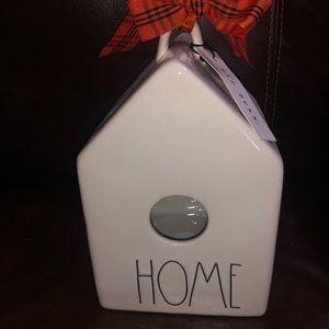 Rae Dunn Home Birdhouse NEW